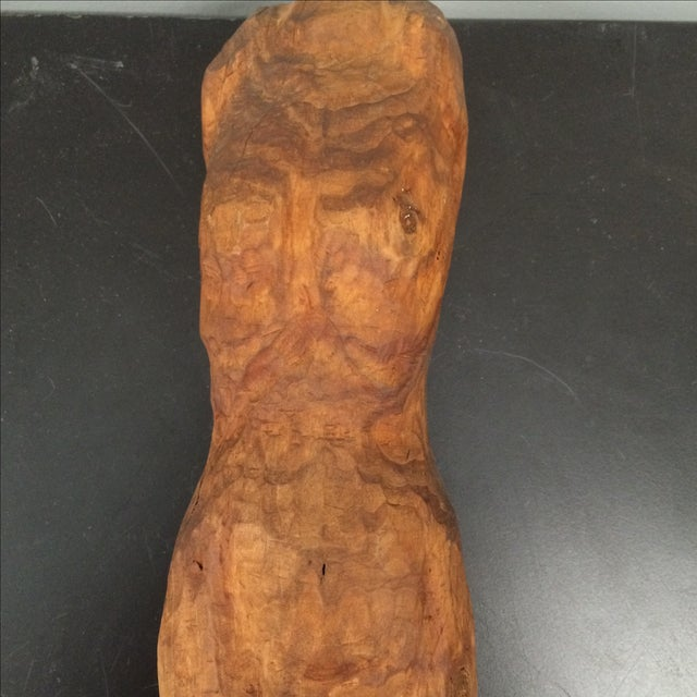 Sculpted Figure on Stand - Image 6 of 7