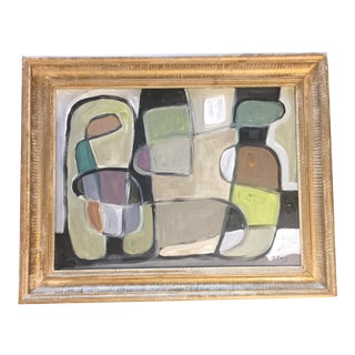 Stewart Ross Original Modernist Abstract Painting