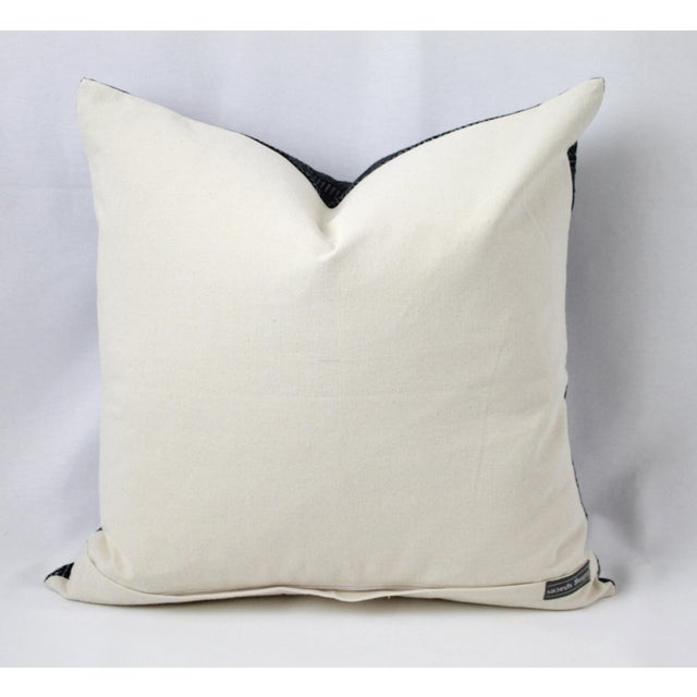 Early 21st Century Vintage Geometric Patterned Pillow For Sale - Image 5 of 12