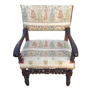 18th Century Antique Continental Arm Chair For Sale