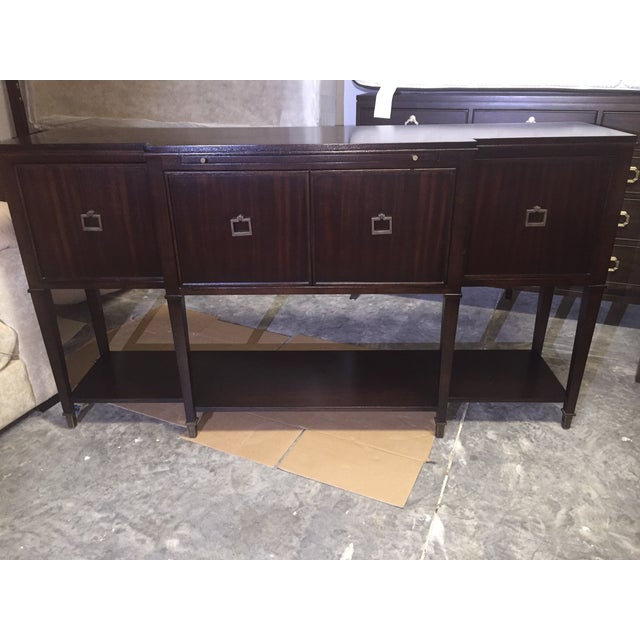 Vanguard Dark Brown Buffet - Image 2 of 5