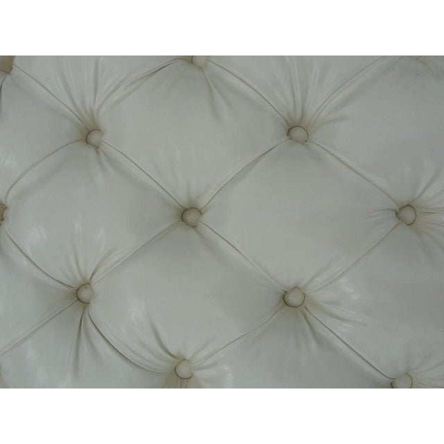 Modern Extra-Long Tufted Bench For Sale In Miami - Image 6 of 8