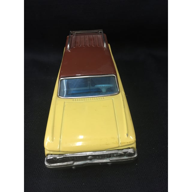 Bandai Japan 1961 Nash Rambler Tin Toy Car For Sale - Image 4 of 6