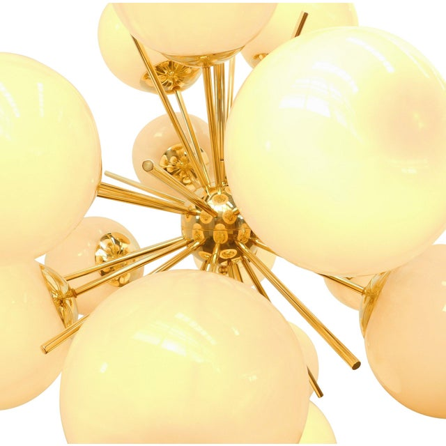 Not Yet Made - Made To Order Diciotto Sputnik Chandelier by Fabio Ltd For Sale - Image 5 of 7