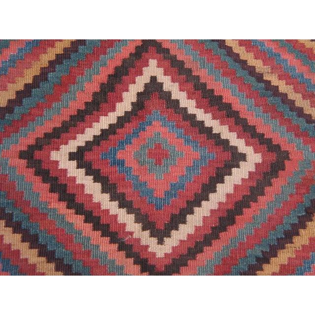 Fabric Bakhtiari Kilim For Sale - Image 7 of 7