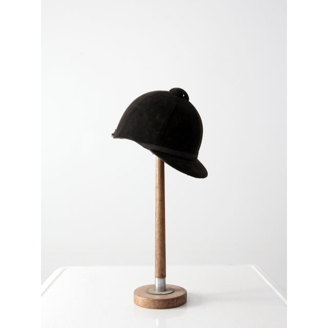 Early 20th Century Vintage Equestrian Hat For Sale - Image 5 of 8