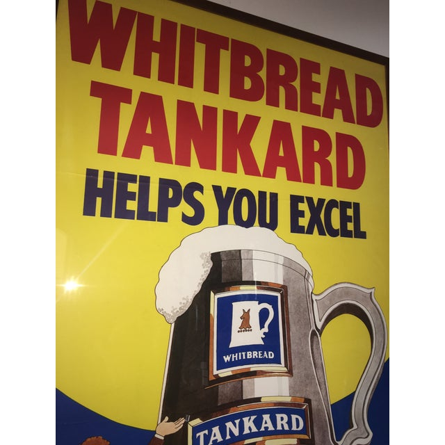 Original English Whitbred Tankard Ales Poster - Image 7 of 11