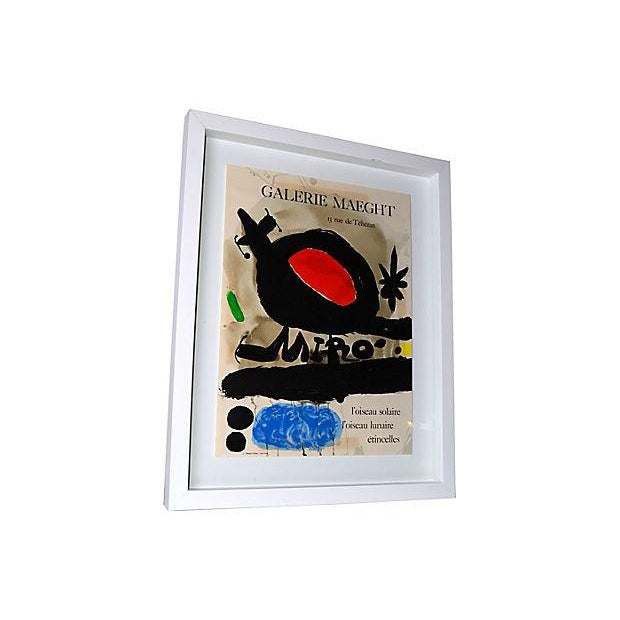 Joan Miró Lithograph Poster By Galerie Maeght - Image 4 of 9
