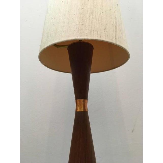 1960s Mid-Century Danish Teak Floor Lamp For Sale - Image 5 of 7