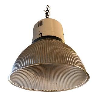Large Vintage European Industrial Pendant Light For Sale