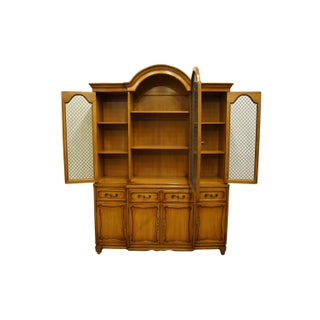 Late 20th Century Rway Furniture Country French Secretary Bookcase China Cabinet Preview