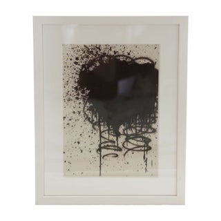 Black & White Framed Abstract Print