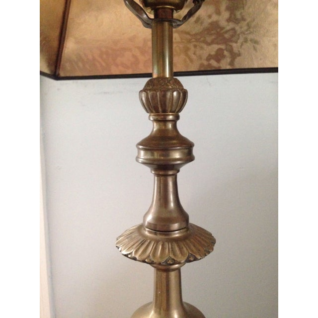 Brass Trophy Lamps - A Pair - Image 6 of 9