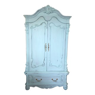 French Provencal Large Scale Armoire For Sale