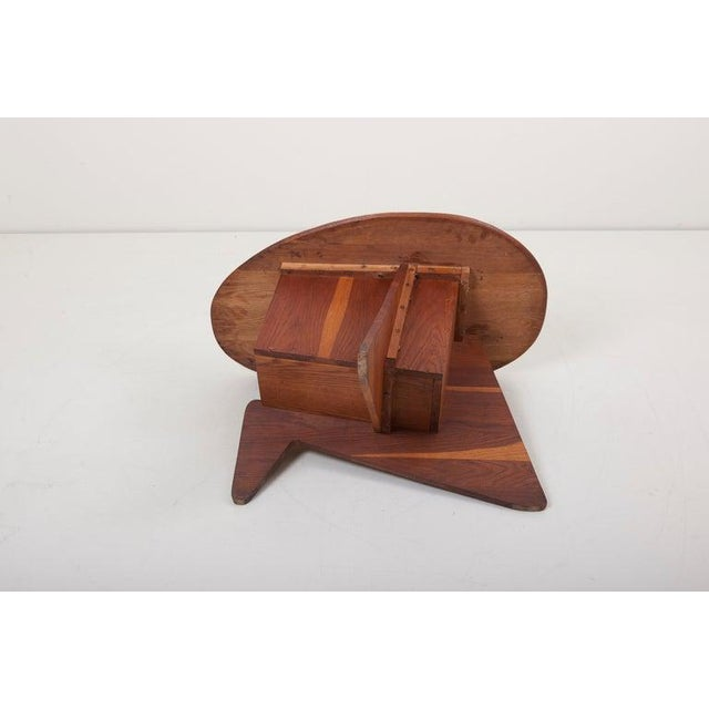 Pair of Wooden Mid-Century Modern Studio Side Tables, Us For Sale - Image 6 of 12