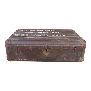 Vintage Old Large Luggage Case For Sale