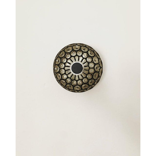 Mid-Century Modern 1960s Mid-Century Modern Iron Ring Design Wall/Ceiling Lamp by Limburg For Sale - Image 3 of 8