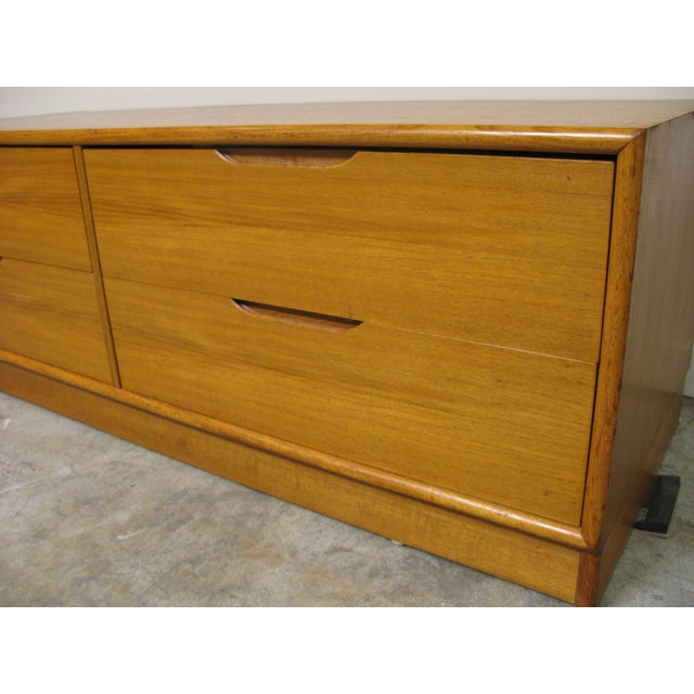 1970s Danish Teak Media Cabinet For Sale - Image 10 of 13