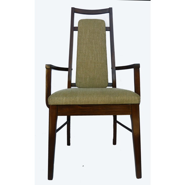 1960's Dining Room Chairs in Walnut - Set of 6 - Image 5 of 9