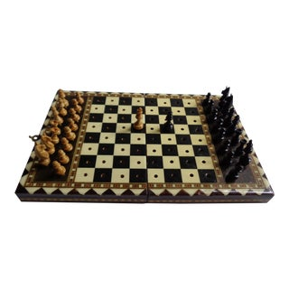 20th Century Spanish Miniature Chess Game