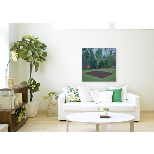 """Contemporary """"Fertile Ground"""" Contemporary Painting by Stephen Remick For Sale - Image 3 of 11"""