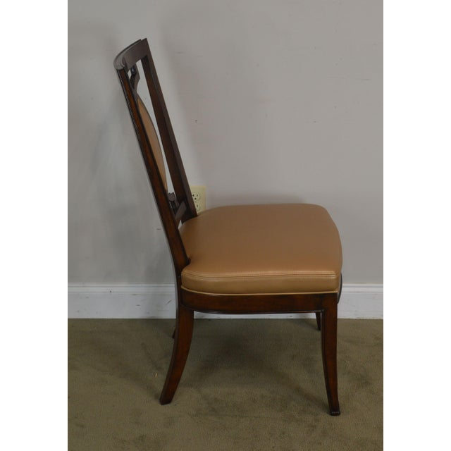 2000 - 2009 Regency Classic Modern Style Set 6 Dining Chairs For Sale - Image 5 of 12