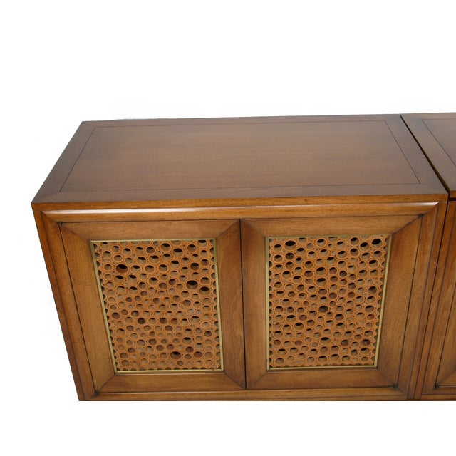 Signed Pierre Bartet Walnut Bar Cabinet - Image 4 of 11