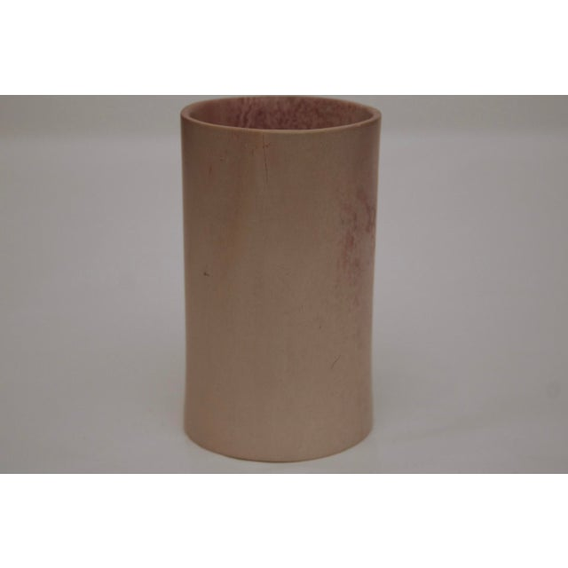 Stone Minimalist Carved Marble Vase / Pencil Cup For Sale - Image 7 of 13