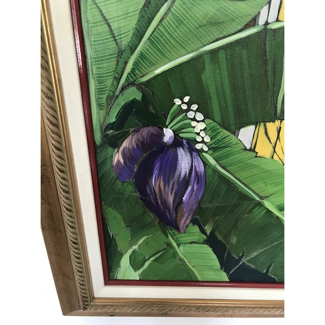 """Original """"Ventana Amarilla"""" Oil Painting By Jorge Silvestre For Sale - Image 4 of 8"""