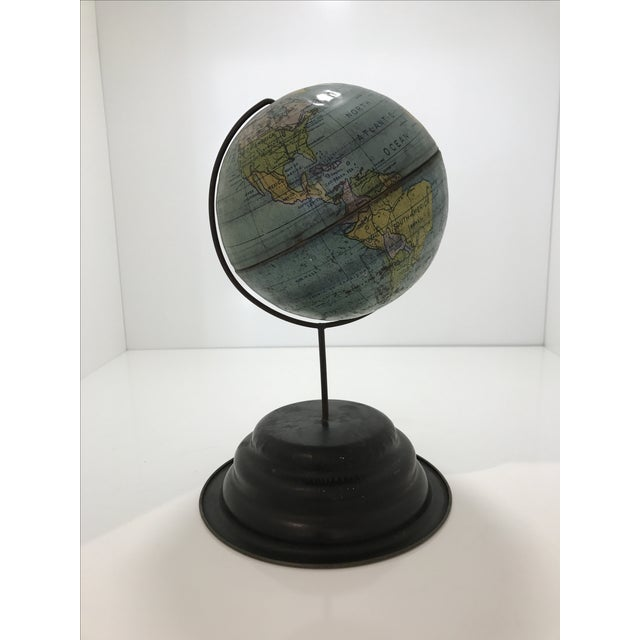 Vintage 1960s Tin Globe - Image 3 of 4