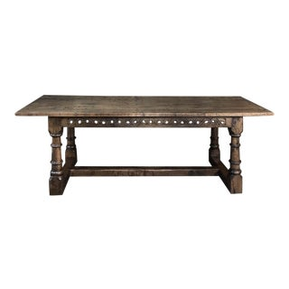 19th Century Country French Dining Table For Sale