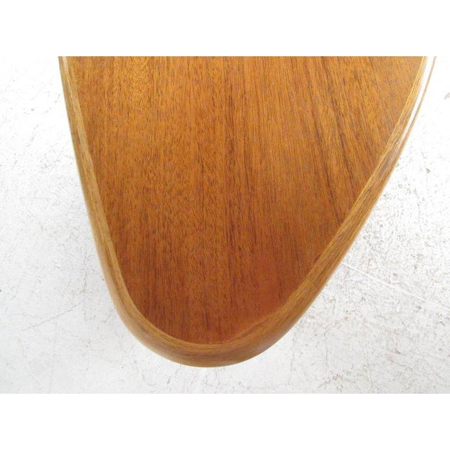 Wood Scandinavian Modern Teak Centre Table For Sale - Image 7 of 11