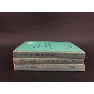 Vintage Shakespeare Books - Set of 3 Preview