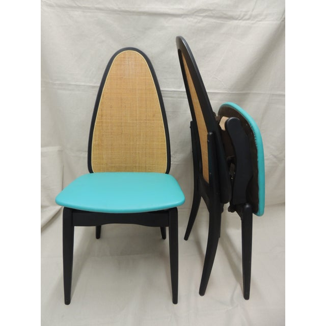 Stakmore Mid-Century Folding Chairs - A Pair - Image 3 of 8