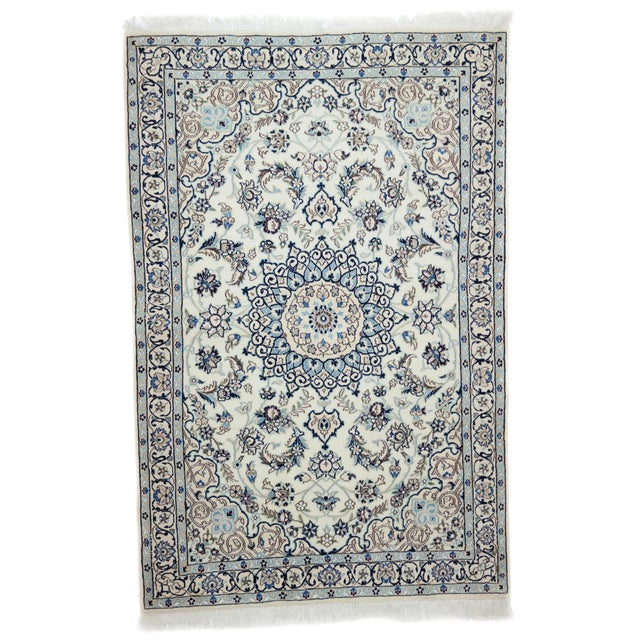 "New Traditional Hand Knotted Area Rug - 3'10"" x 5'9"" - Image 1 of 3"