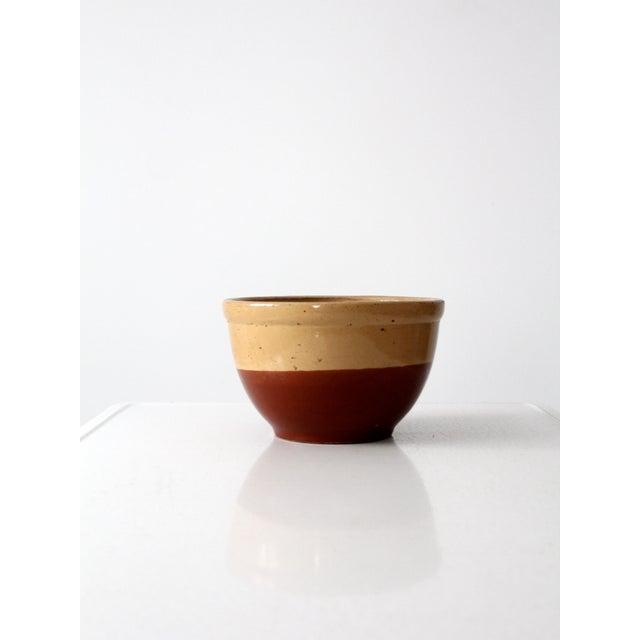 Vintage Watt Pottery Yellow Ware Bowl - Image 7 of 7