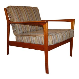1960s Vintage Folke Ohlsson for Dux Usa 75 Lounge Chair For Sale