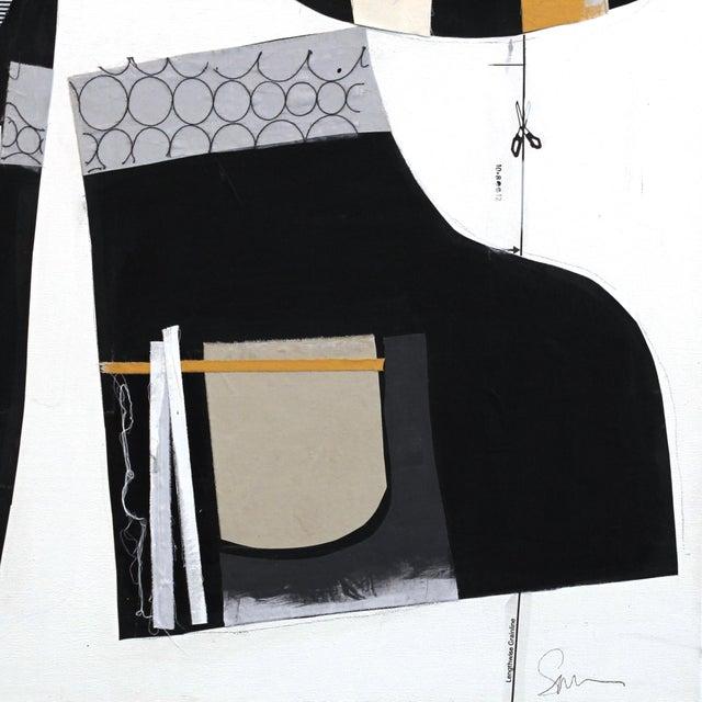 Deconstructed Original Mixed-Media Artwork - Image 9 of 9