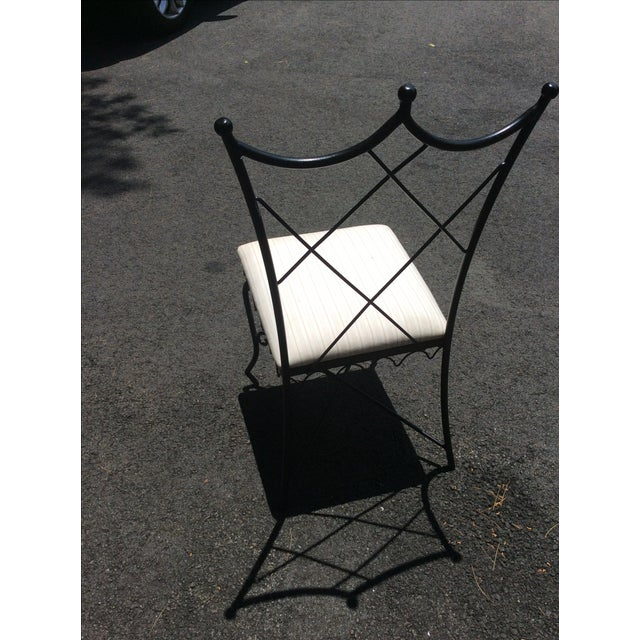 Ruthie Sommers Outdoor Metal Chairs - Set of 6 - Image 5 of 7