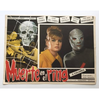 Mid Century Mexican Movie Poster Lobby Card Preview