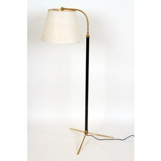 A Pair of Jacques Adnet Style Floor Lamps Preview