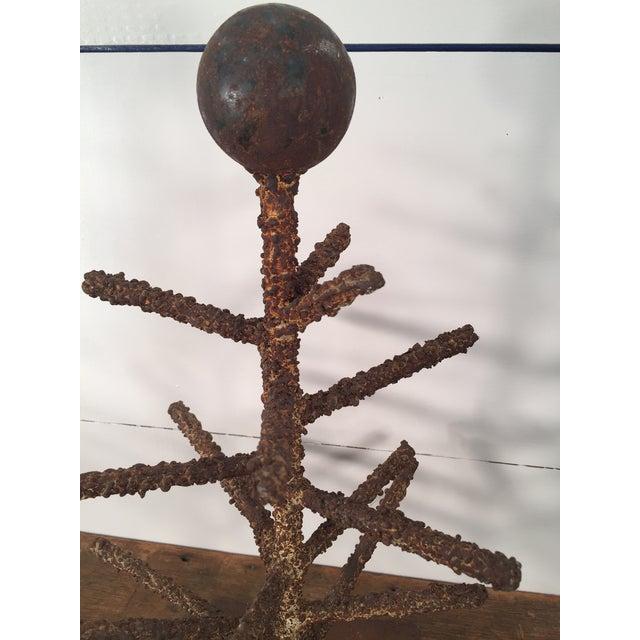 Brutalist Folk Art Tree Sculpture - Image 5 of 8