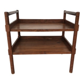 British West Indies Style Bar Cart For Sale