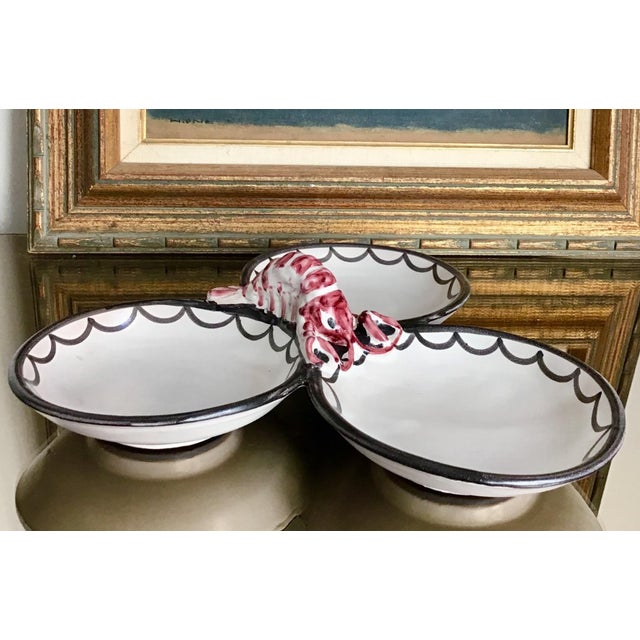 Ceramic Late 20th Century Lobster Serving Dish For Sale - Image 7 of 7