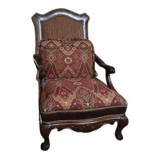 Drexel Heritage Mediterranean Oversized Armchair For Sale