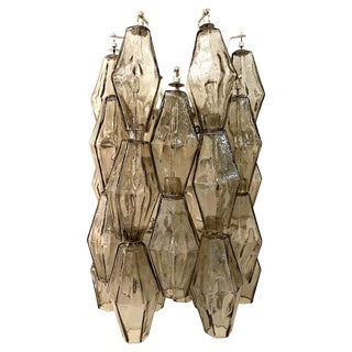 Venini of Italy Polyhedral Single Sconce by Tobia Scarpa For Sale