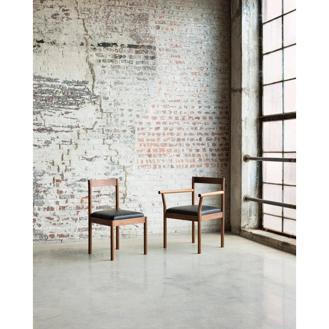 Wood Feast Side Chair in Walnut For Sale - Image 7 of 7
