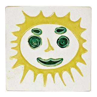 1960s Bennington Sunshine Tile