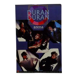 Circa 1980 Duran Duran Arena Album Poster For Sale