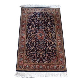 "Indian Handmade Wool Rug- 3' X 5' 6""ft For Sale"